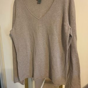 Premise Cashmere bell sleeve sweater. Size xl.